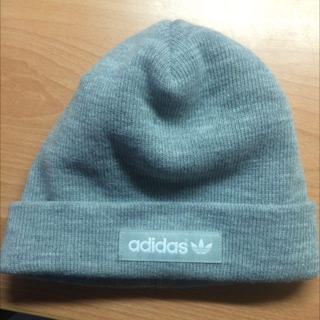 Adidas 灰色毛帽 購於日本