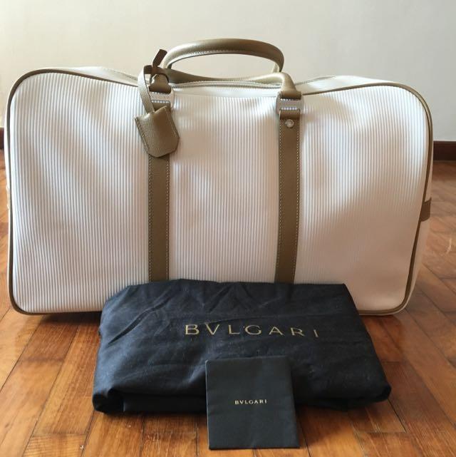 cba938c5e676 Bn bvlgari travel bag luxury on carousell jpg 640x641 Bvlgari travel bag