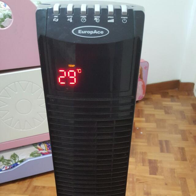 Europace Towerfan With Remote