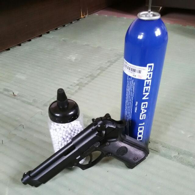 LS M9A1全金屬貝瑞塔瓦斯槍