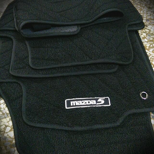 MAZDA 5 原廠腳踏墊
