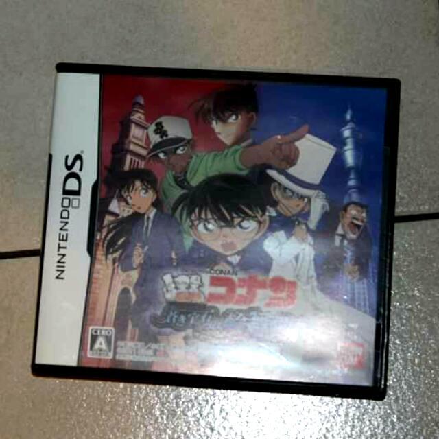 Meitantei Conan DS game Aoki Houseki No Rondo