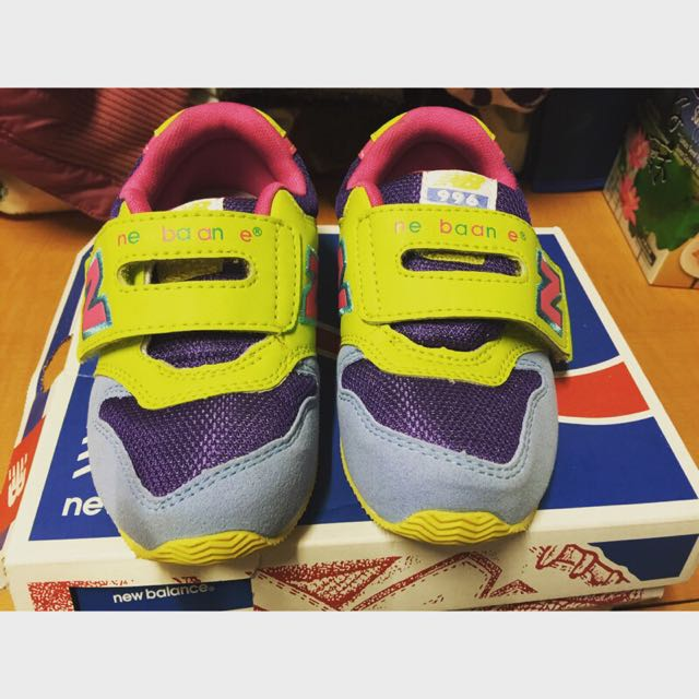 全新New Balance FS996 繽紛馬卡龍運動童鞋 14.5cm