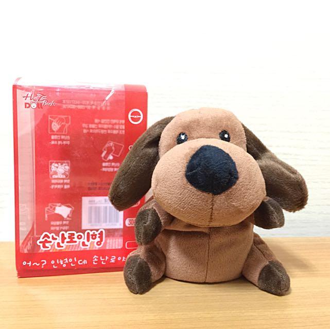 Q狗娃娃暖暖包 冬天必備可愛雜貨 韓國