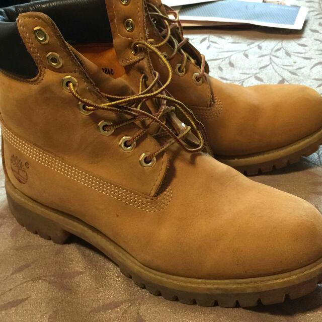 【專櫃正品】Timberland 10061男黃靴