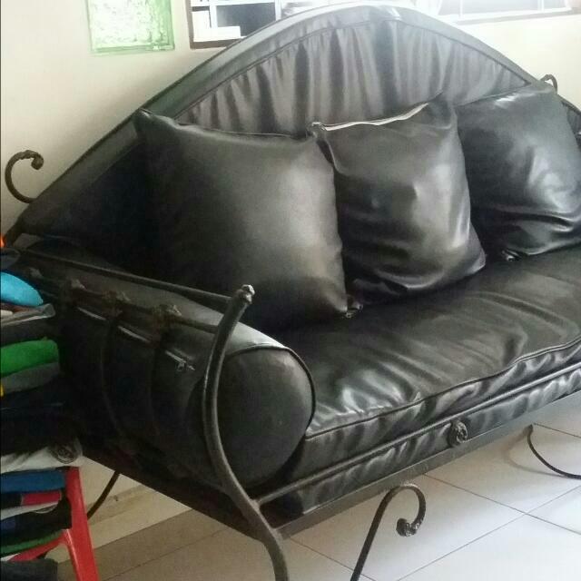 Wrought Iron Sofa Set Furniture On