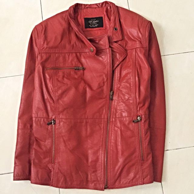 ZARA TFR Leather Garments
