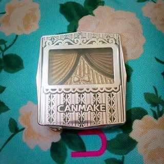 CANMAKE復古蝴蝶結三色眼影