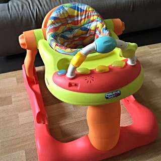 """Creative Baby"" Baby Walker with Muisc"