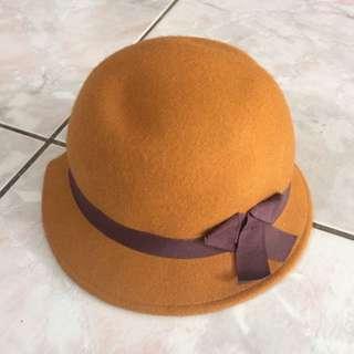 H&m 女生紳士帽