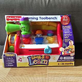 Fisher Price Learning Toolbench (6 to 36 months)