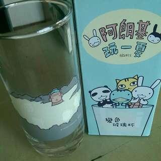 阿郎基 玩一夏 變色玻璃杯