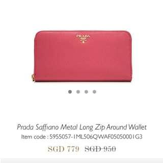 3a8788320d17 prada long wallet zip | Luxury | Carousell Singapore