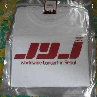 JYJ Worldwide Concert In Seoul Official T-shirt