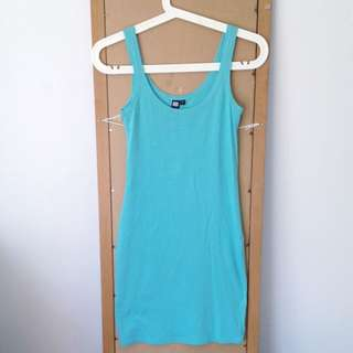 Seafoam Bodycon Basics Dress