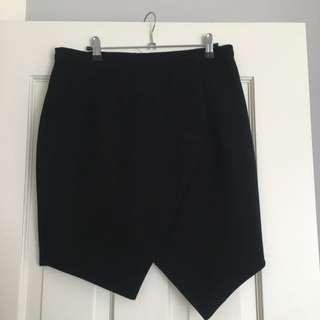 Rodeo Show Crepe Origami Skirt Sz 12