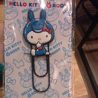 🆕 Hello Kitty *Rody 大型軟膠磁鐵迴紋針