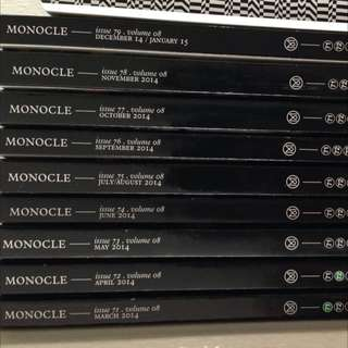 Monocle Issues 71 & 72 (others sold)