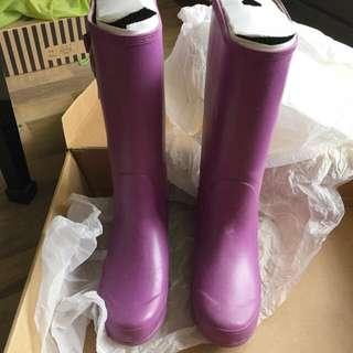 (含運)Goa雨鞋 38號 紫色