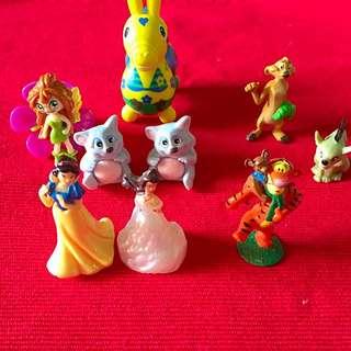 扭蛋、一些小玩具