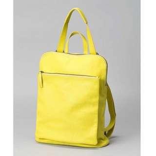 Elk Yellow Backpack