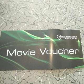 8 x Shaw Movie Vouchers