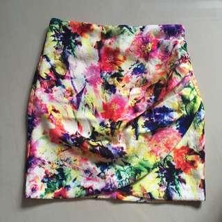 THESTAGEWALK Rainbow Skirt