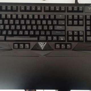 飆風悍馬機械式鍵盤 紅軸
