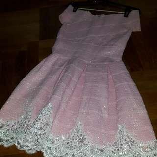 BNWOT Fairebelle OPULENCE CROCHETBANDAGE Dress