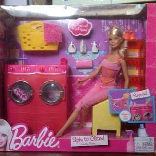 "Barbie Doll ""Spin To Clean"""