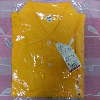 Uniqlo*全新Polo短袖襯衫-M