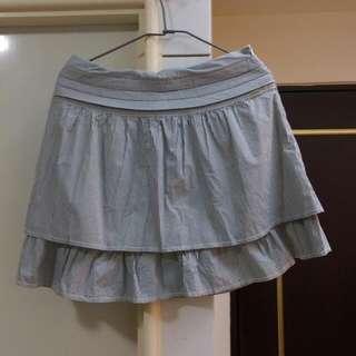 Lace直條紋蛋糕裙
