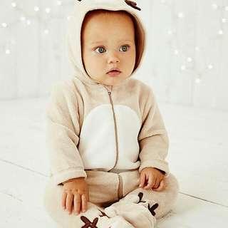 【現貨】英國童裝 全新專櫃mothercare冬季套裝3-6m
