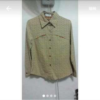 彩色小正方形襯衫