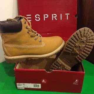 降降降(全新)🇺🇸 Esprit  黃靴 USA🇺🇸購入  8 1/2
