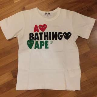 Bathing Ape X CDG