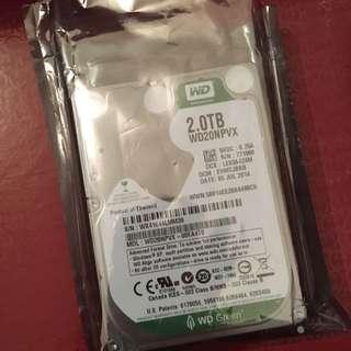 2.0TB Brand New Hard Drive