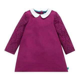 【現貨】英國童裝 全新專櫃mothercare洋裝9-12m