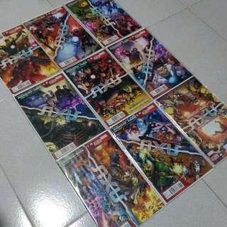 Marvel Comics Avengers & X-Men : AXIS #1-9