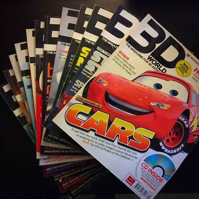 3D World Magazines Back Issues 80-92