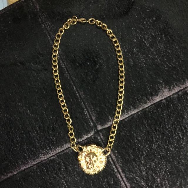 獅頭金項鍊