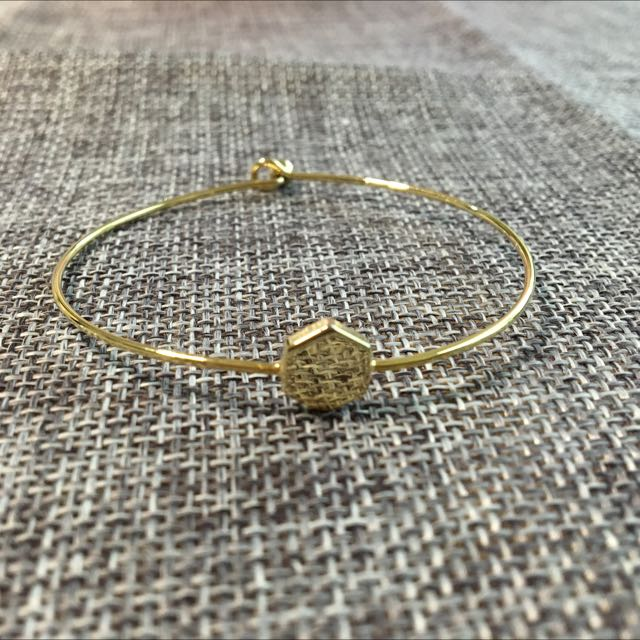 金屬六角形手環
