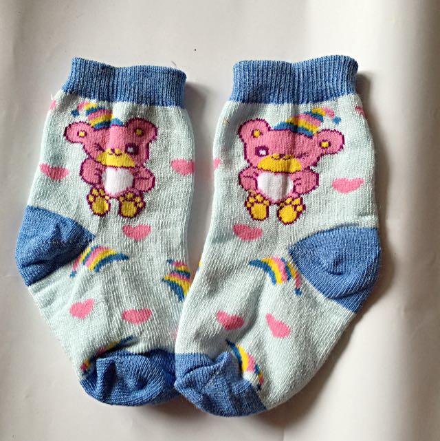 小熊兒童襪