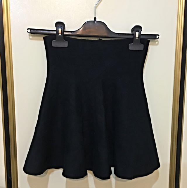 棉質傘狀短裙