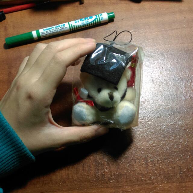 畢業小熊娃娃吊飾🐻