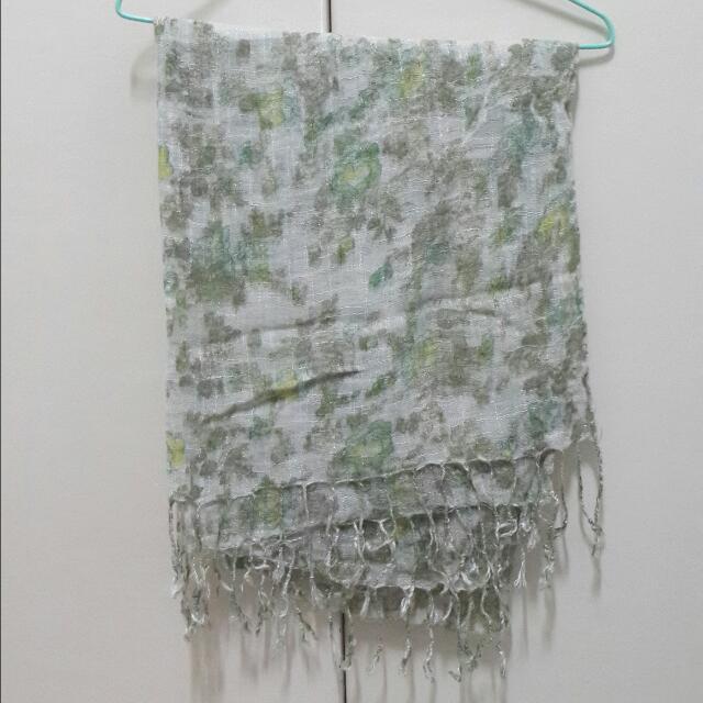 圍巾 披巾