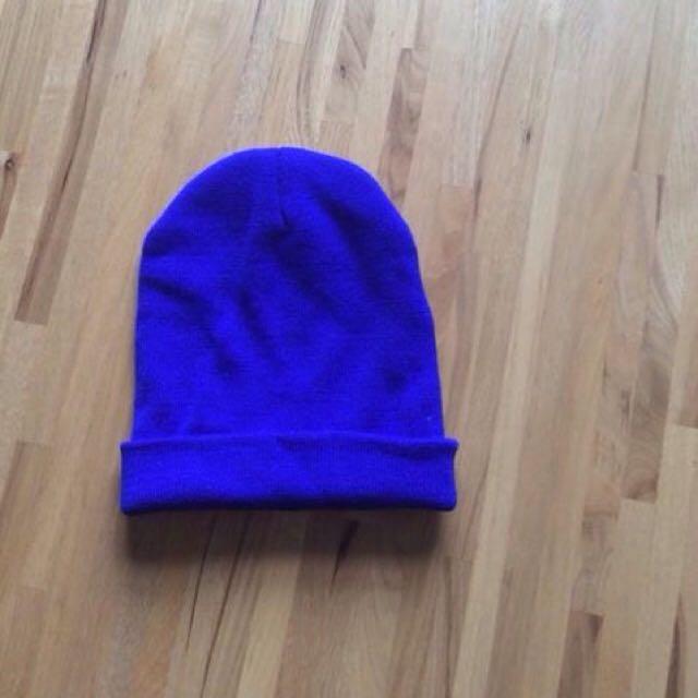 全新 寶藍針織帽 寶藍毛帽 針織帽 毛帽 藍色毛帽 藍色針織帽