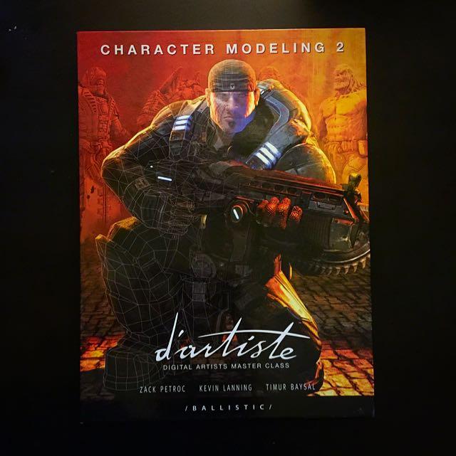 D'artiste CHARACTER MODELING 2