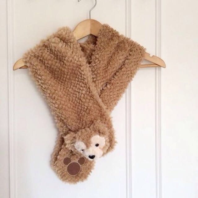二次降價✨全新!Duffy圍巾!迪士尼圍巾 香港帶回 Duffy