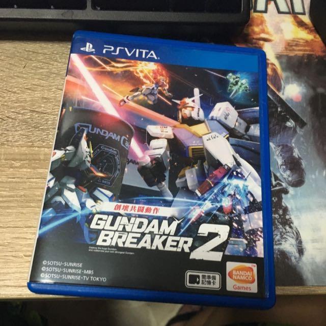 Gundam Breaker 2 Ps Vita Chinese Version